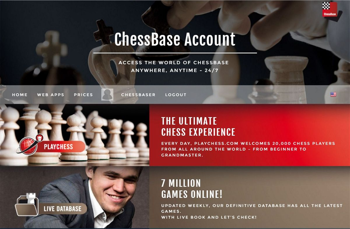Image result for ChessBase Account ChessBase India