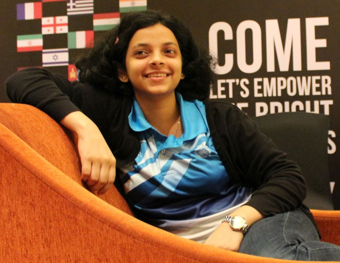 Image result for Padmini rout chessbase india