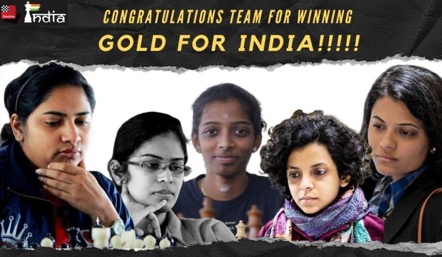Asian Online Nations: Indian Women clinch Gold, Men win Silver - ChessBase India