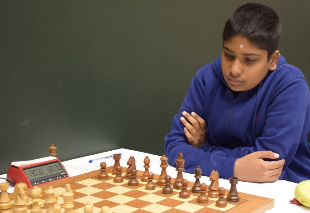 The next big talent of Karnataka - IM Pranav Anand - ChessBase India