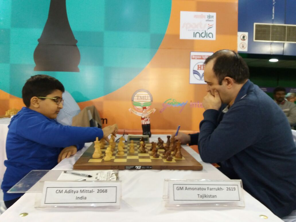 Image result for Aditya Mittal ChessBase India